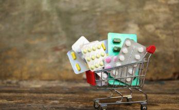 a cart of pills