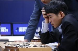 Alphago 對戰世界棋王李世乭,來源:http://news.ltn.com.tw/news/world/breakingnews/1633197