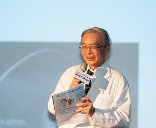 中國醫藥大學健康照護學院院長 沈戊忠教授