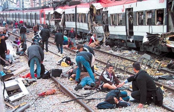 圖一 2004 馬德里列車恐怖攻擊案意外開啟了 NGS 技術在 DNA 鑑識科學的新應用 | 圖片來源: http://www.sekuritaci.cz/