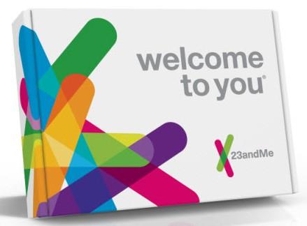 23andme's Saliva Collection Kit (credit: 23andMe, Inc.)