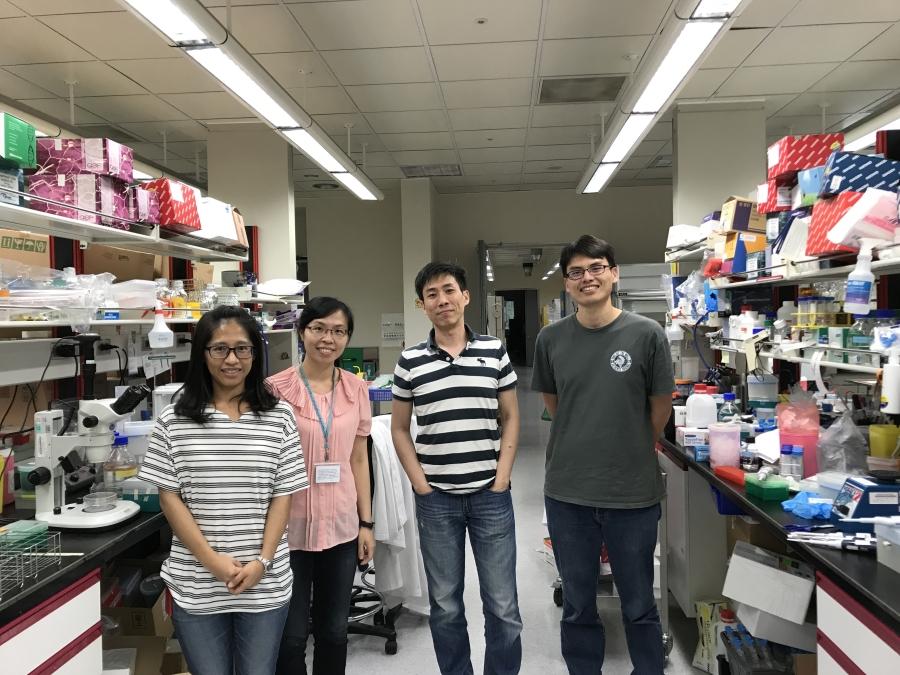 高承源博士實驗室團隊。圖片:由高承源博士提供。