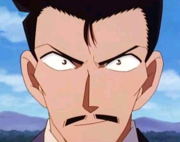毛利小五郎。來源:Wiki