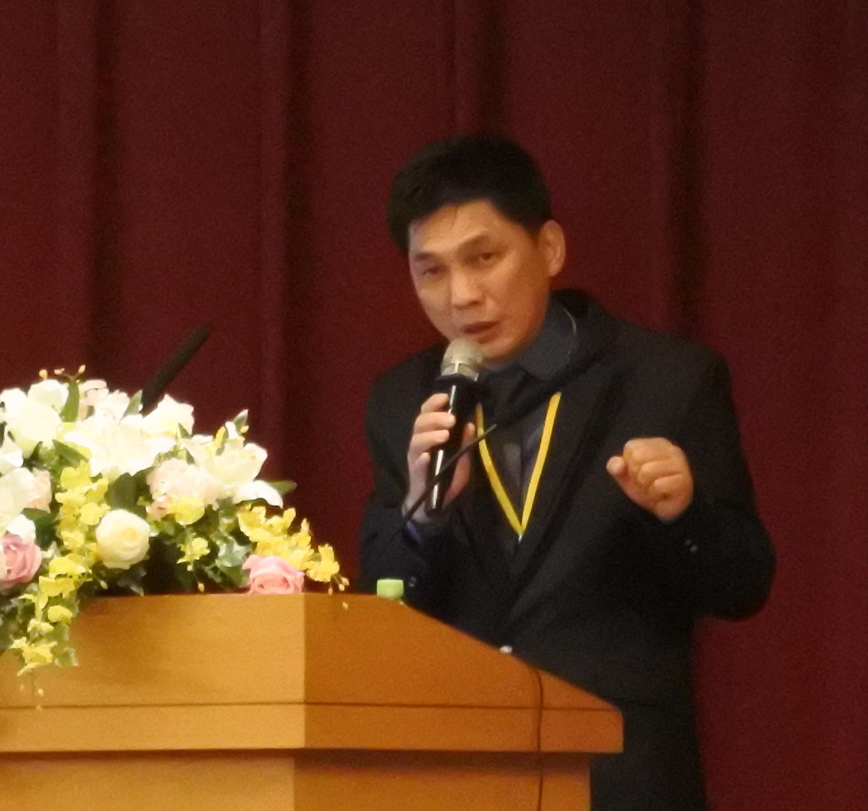 金萬林企業股份有限公司的蔡若廷副總經理