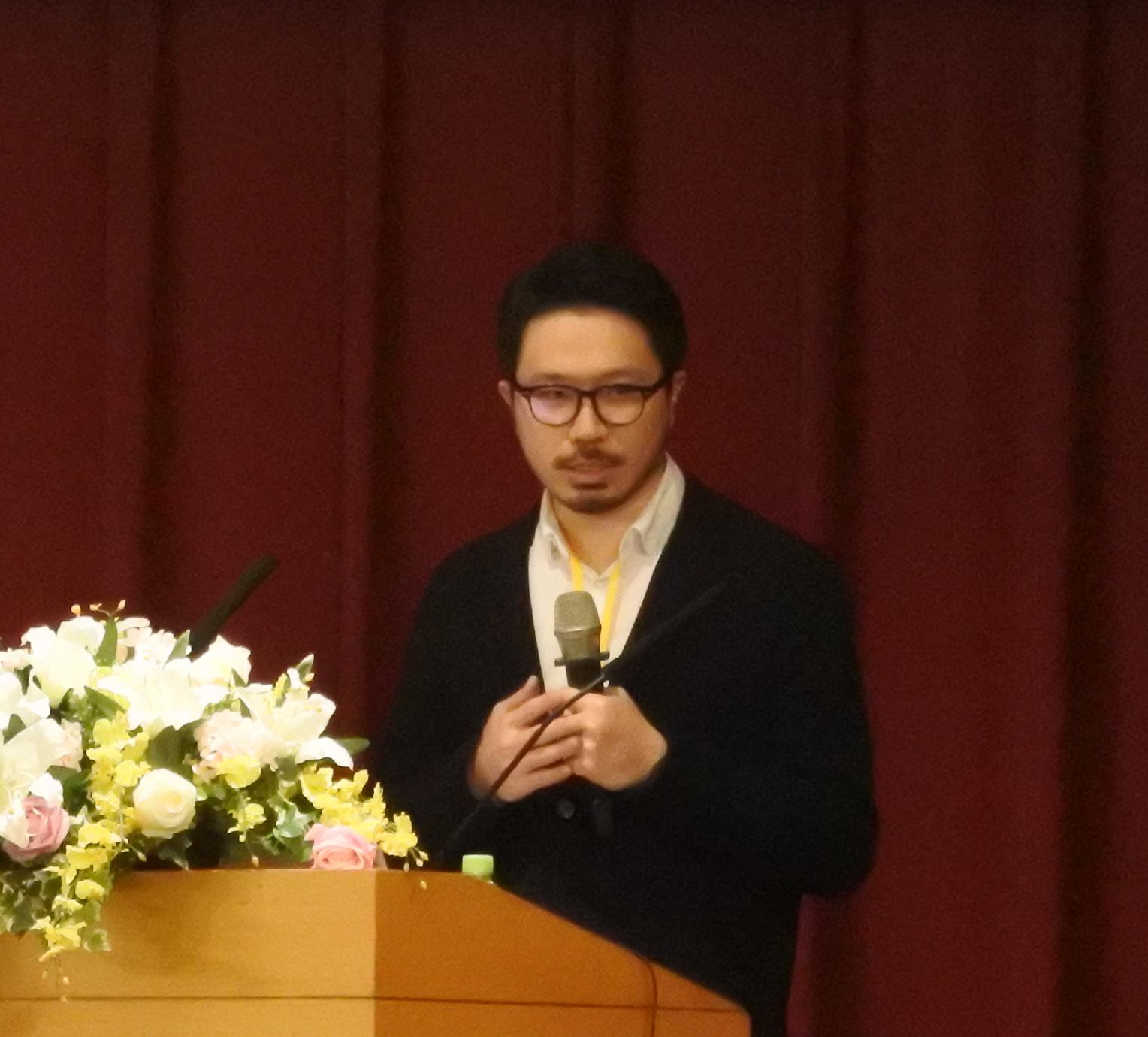 基因線上總編輯黃富楠 (Thomas Huang)