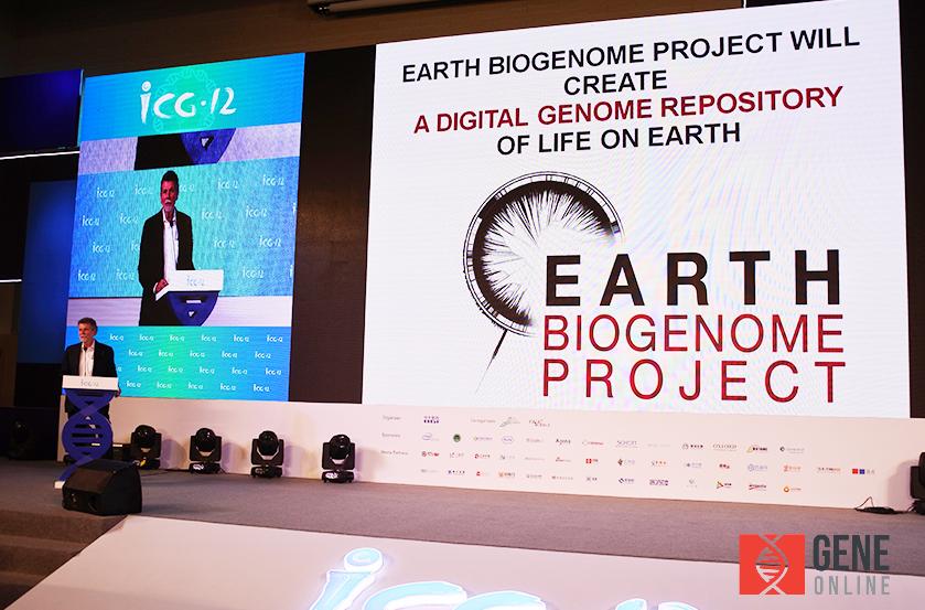美國自然與歷史博物館的研究員John Kress介紹地球生物基因體計畫(Earth Biogenome Project;EBP)