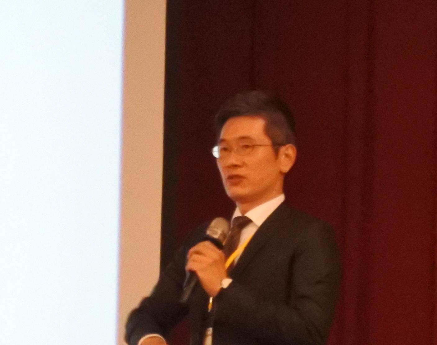 威健生物科技業務部副總經理 李彥樑