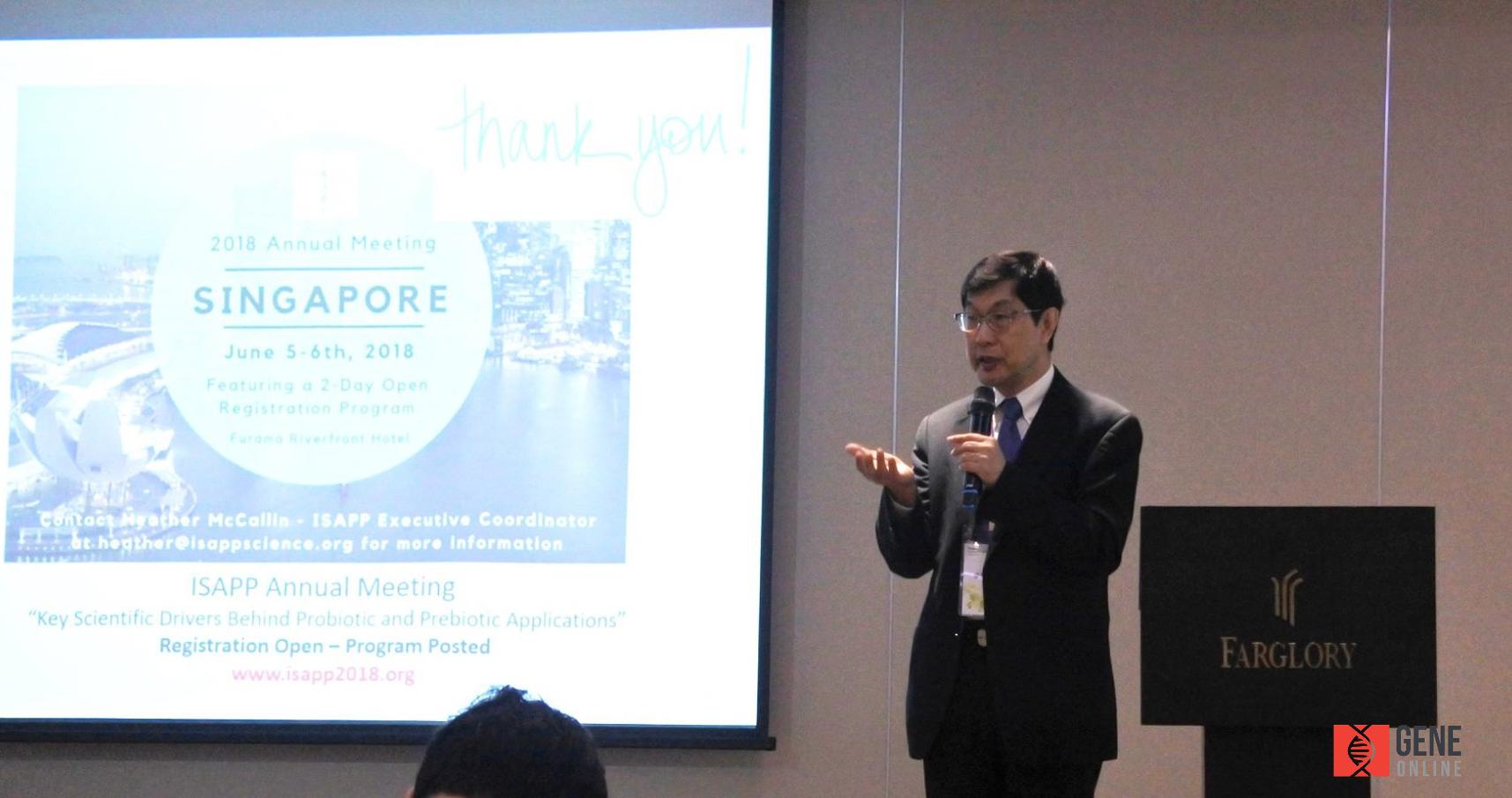 新加坡國立大學醫學院 李元昆教授