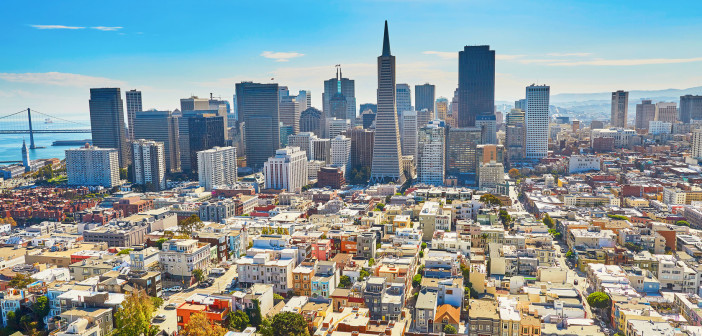 48517966 - scenic view of downtown in san francisco, california, usa