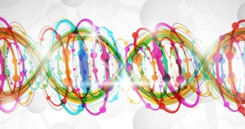 12493259 - abstract background with a colorful picture of the dna