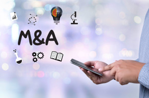 69184320 - m&a (mergers and acquisitions)  , businessman working at office m&a