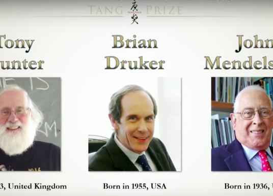 三位標靶治療先驅 獲第 3 屆唐獎生技醫藥獎殊榮