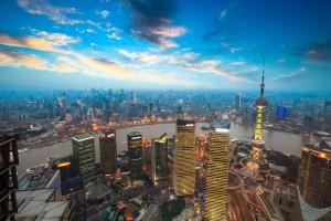 18290844 - bird view of shanghai