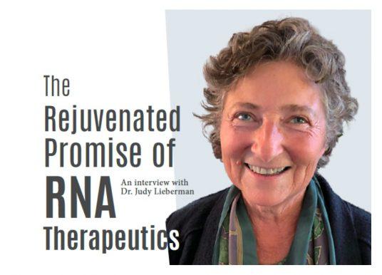 RNA療法開創醫療新前景–專訪Dr. Judy Lieberman