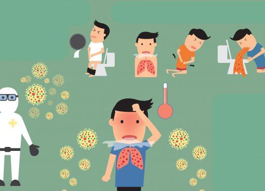 同時有上呼吸道和腸胃道症狀? 美腸胃專家籲不要排除 COVID-19!