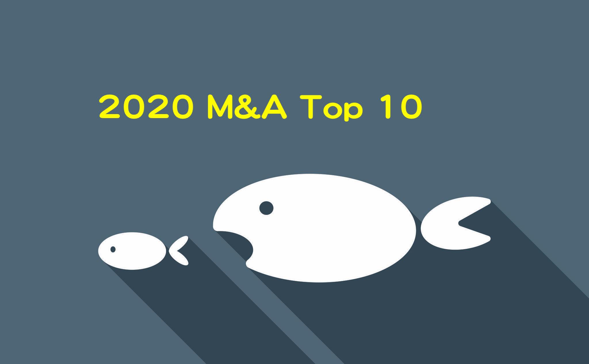 簡析 2020 十大生醫併購案:疫情趨緩,下半年交易回升?